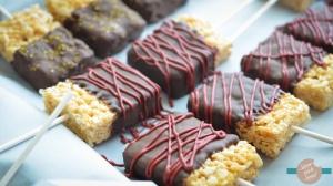 Marshmallow & Crisped Rice Chocolate Dipped Treat