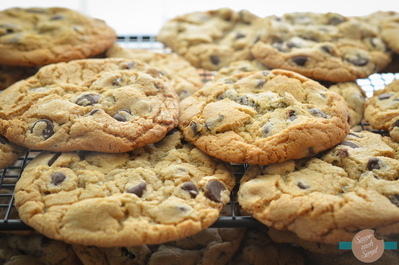 Grown Up Chocolate Chip Cookies